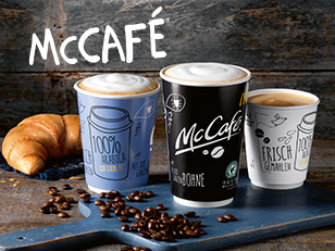 Kaffee in McCafé Qualität