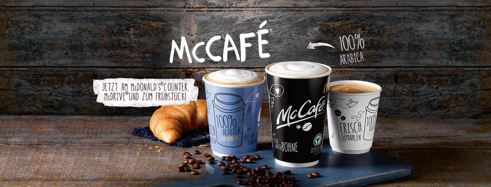 McDonald\'s - McCafé wo immer du willst