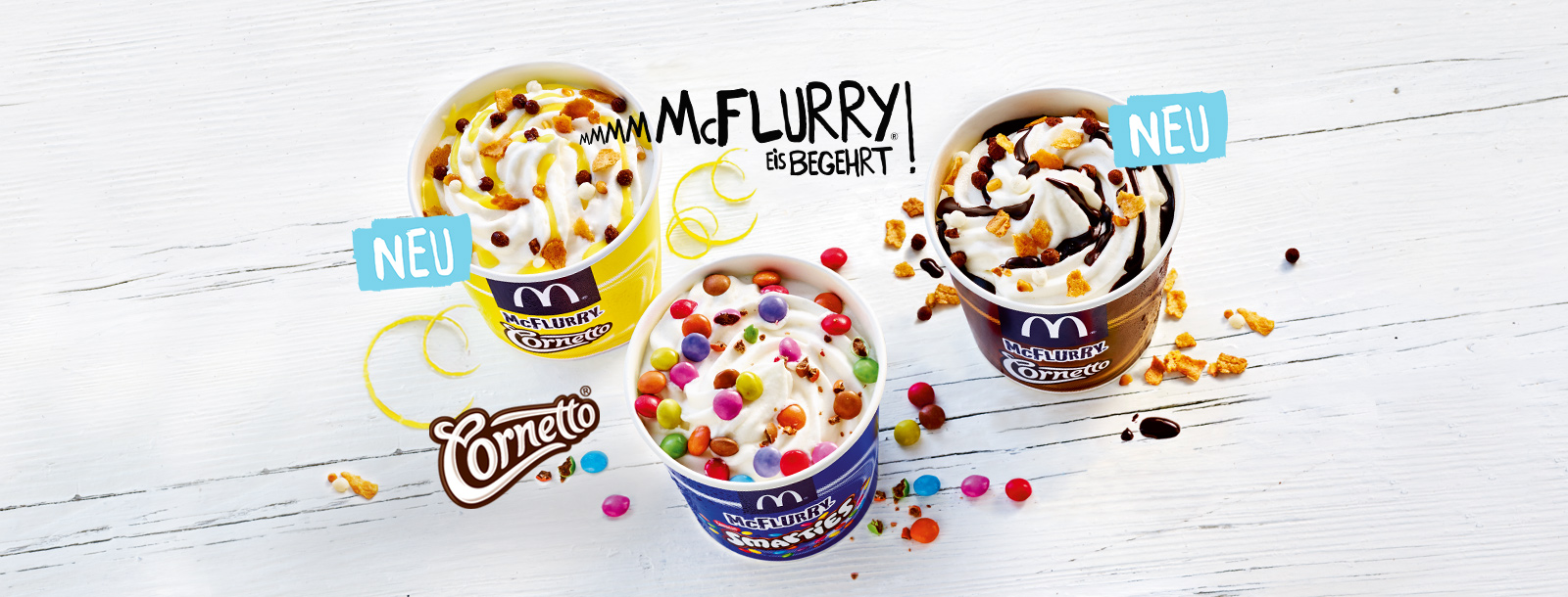 McFlurry Cornetto